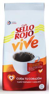 café sello rojo cuida tu corazón