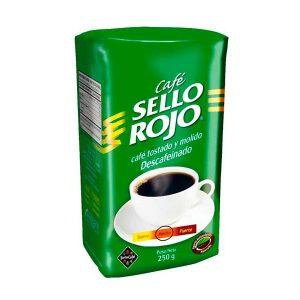 cafe sello rojo descafeinado