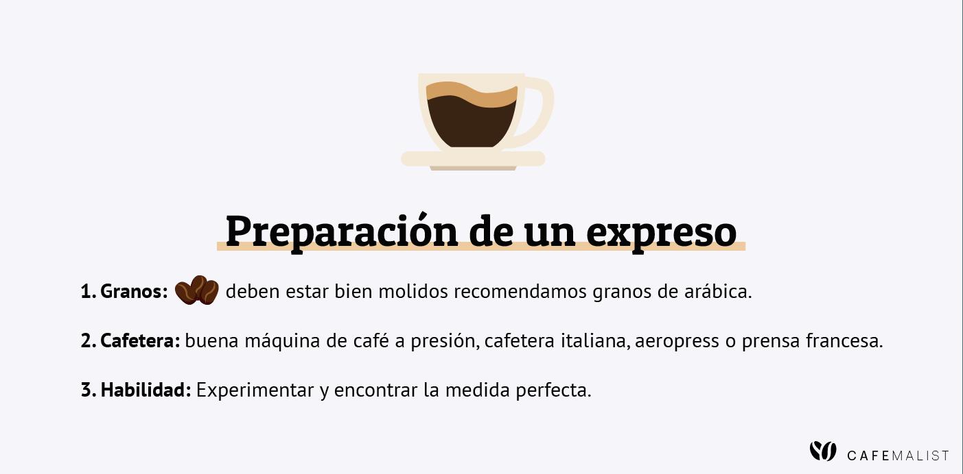 como se hace un espresso