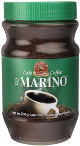 Café instantáneo El Marino descafeinado