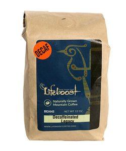 Café orgánico descafeinado Lifeboost